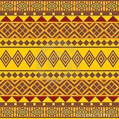 Estilo afrikan do teste padrão sem emenda decorativo