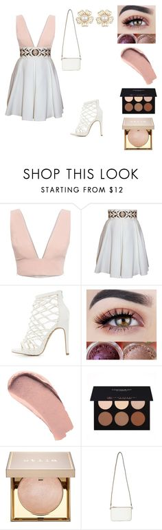 """""""Untitled #289"""" by mcl2000 on Polyvore featuring Animale, Balizza, Charlotte Russe, Burberry, Anastasia Beverly Hills, Stila and Miss Selfridge"""