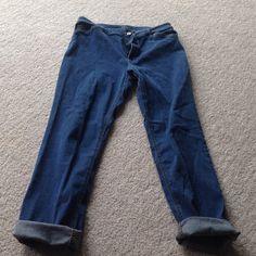 J.Jill Jeans- Tried & True Fit- Modern Slim Super soft J.Jill quality straight jeans - Tried & True fit Modern Slim Jean.  98% cotton, 2% Lycra, Spandex. J. Jill Jeans Straight Leg