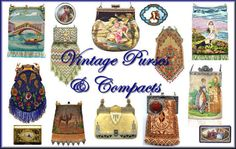 Vintage Purses, Compacts, Stuff with Color and Made with Passion