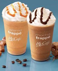 Homemade McDonald's Mocha Frappes - made it, but would use less ice cubes.