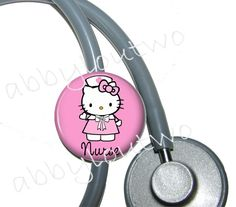 hello kitty stethoscope. i need to remember to get one of these!