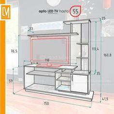 4 Kinds of TV Furniture Tv Cabinet Design, Tv Wall Design, Tv Unit Design, House Design, Tv Unit Furniture, Home Furniture, Furniture Design, Tv Wanddekor, Lcd Units