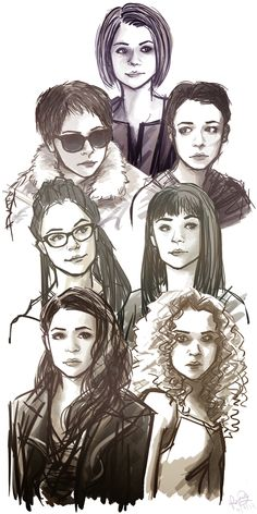 orphan black helena fanart - Google Search