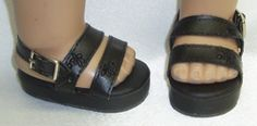 Black Patform Sandals