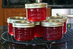 ... on Pinterest | Jelly, Cherry Jam Recipes and Strawberry Rhubarb Jam