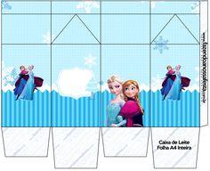 Caixa de Leite Frozen Azul