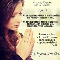 Oracion 31 dias x tu esposo