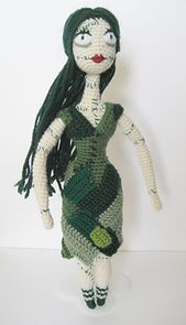the Nightmare Before Christmas Sally doll - CROCHET. Really well written out pattern - freebie too