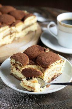 SEROWO-KAWOWE CIASTO Z INKĄ - bez pieczenia! Sweet Recipes, Cake Recipes, Dessert Recipes, Cute Desserts, Delicious Desserts, Low Carb Side Dishes, Sweets Cake, Mini Cakes, No Bake Cake