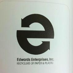 Recycle 'e' logo