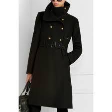 BCBG funnel collar coat