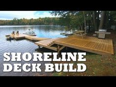 DIY Ladder for Floating Dock - YouTube