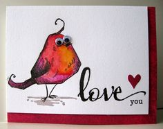 Tim Holtz BIRD CRAZY. Morning Glory Card Studio: a female version. . . .