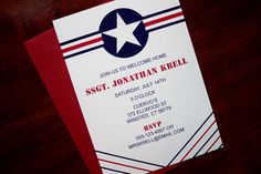 Air Force Party Invitation or Announcement by Tulaloo on Etsy, $17.50