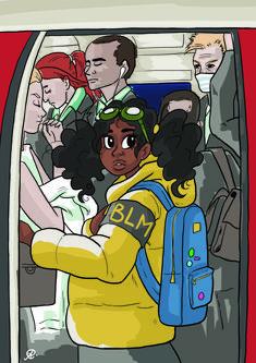 by Aliyah Coreana Artist Games, Illustration Art, Anime, Black, Black People, Cartoon Movies, Anime Music, Animation, Anime Shows