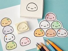 THIS IS AWESOME. You get this stamp and once you use it, you can color the inside however you want!