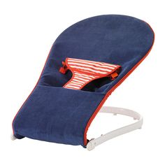 IKEA - TOVIG, Baby bouncer, , Your baby will feel stimulated by watching activities in your home from a safe and comfortable half-sitting position in the baby bouncer.The baby bouncer is easy to bring along, as it is lightweight and foldable.The textile cover can be removed and machine washed.