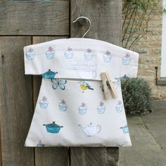Peg Bag - 'The Good Life' from Sophie Allport