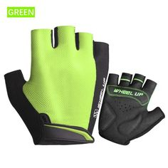 "Product Details: Material: High-quality Polyester, Microfiber Weight: 29g Gender: Men Feature:  Non-slip off buckle Logo design Palm vents Skidproof shock absorbing Mesh elastic fabric Anti-pilling towel cloth Easy to disengage Washable Season: Spring, Summer Package: 1 Pair Haft Finger Gloves Click ""Add to Cart"" butto"