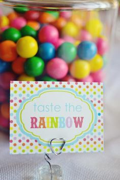 Rainbow Theme Kids Birthday Party