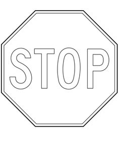 Stop Sign Coloring Page Traffic Light And Stop Sign Coloring Page Safety. Stop Sign Coloring Page Canada Stop Sign Coloring Page Free Printable Coloring Pages. Dover Coloring Pages, Train Coloring Pages, Art Activities For Toddlers, Free Games For Kids, Stop Sign Shape, Traffic Light Sign, Preschool Rules, Kindergarten Coloring Pages, Free Printable Coloring Sheets