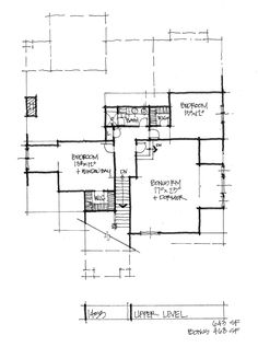 Check out the second floor plan for house plan 1453.