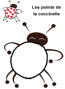 image les points de la coccinelle Montessori Activities, Preschool Learning, Grouchy Ladybug, Chinese Lessons, Drawing Activities, Plasticine, Handprint Art, Simple Bags, Math Games