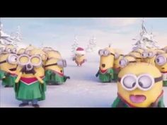 minion live song merry christmas