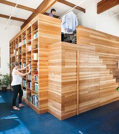 Le lit mezzanine est un meuble à beaucoup de charme. Convenable pour la chambre enfant et adulte, c'est une solution pratique pour les petits espaces