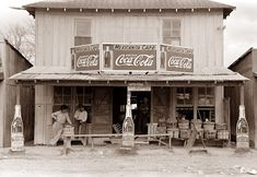 Old cafe/store - 1939 - Texas