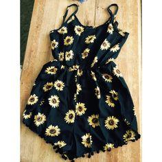 For Sale: Sunflower Romper for $23