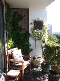 ★ #klein #balkon #balkontuin #inspiratie #buiten #zomer #lente | http://www.balkonafscheiding.nl/product-categorie/balkonafscheidingen