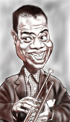 Louis Armstrong by ~adavis57 on deviantART