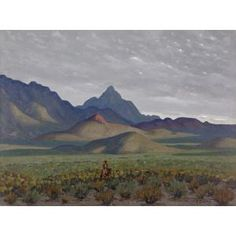 The Lone Rider, Ed Love Ranch, West Texas, Fred Darge, n.d., Dallas Museum of Art