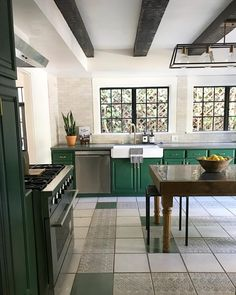 """1,830 Likes, 50 Comments - Kirsten Blazek (@a1000xbetter) on Instagram: """"Soooooo here is the kitchen from beautiful Canyon Cove ( coming soon). The floor tile was original…"""""""
