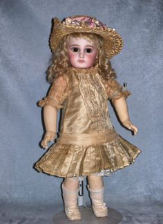 FARAWAY ANTIQUE SHOP on Ruby Lane http://www.rubylane.com/item/359459-817/15-5-Early-Jumeau-Bebe #antiquedoll #jumeau