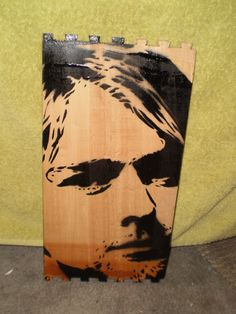 Kurt Cobain by AlexColejr on Etsy, $14.99