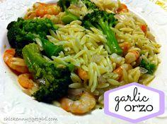 Garlic Orzo