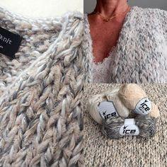 ❄️My favourite chunky knit❄️ Chunky Knitting Patterns, Vintage Crochet Patterns, Knitting Designs, Knitting Yarn, Knitting Projects, Crochet Projects, Hand Knitting, Crochet Wool, Knit Fashion