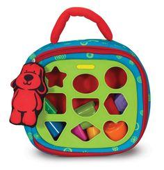 AmazonSmile: Melissa & Doug K's Kids Take-Along Shape Sorter Baby Toy: Melissa & Doug: Toys & Games