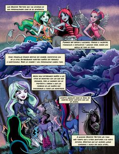 Meet the Fright-Mares: Pyxis Prepstockings and Bay Tidechaser