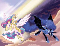 My Little Pony #4 Larry's/Jetpack Variants by TonyFleecs.deviantart.com on @deviantART