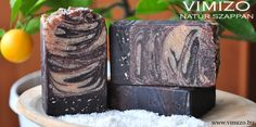 chocolate coconut soap, with goat milk