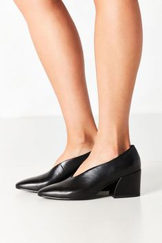 promo code 02b8a 84eaa Slide View  6  Vagabond Shoemakers Olivia Leather Heel Leather Heels, Urban  Outfitters,