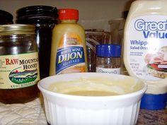 O'Charleys style honey mustard sauce