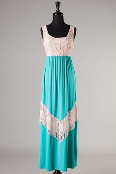 The Juliette Lace Dress-Turquoise