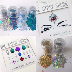 THE ULTIMATE GIFT SET Only £35 You will recieve: CHUNKY GLITTER GIFT SET * MERMAID GLITTER (5G) * UNICORN GLITTER (5G) * CHUNKY SILVER MIX (5G) * MULTI MIX (5G) * SIGNATURE SILVER MIX (5G) * SIGNATURE GOLD MIX (5G) MIX N MATCH FACE JEWELS NIGHT FEVER FACE JEWEL RRP £45.95 - SAVING OF £10.95 LIMITED TIME ONLY XXXX
