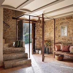 ESTILO RUSTICO: Casa Rustica en la Provenza / Rustic House in Provenza