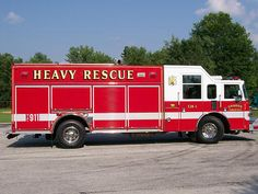 Sharon Township Fire Department (OH)  2007 Pierce Enforcer Custom Heavy Rescue http://setcomcorp.com/900intercom.html